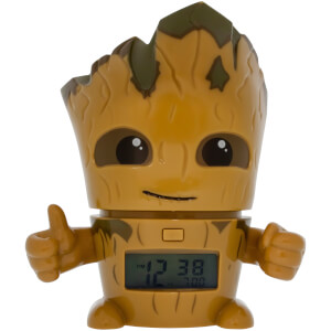 BulbBotz Guardians of the Galaxy Groot Clock