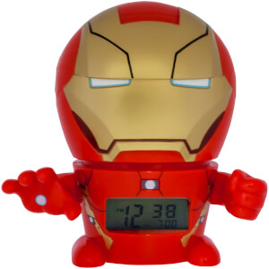 BulbBotz Marvel Iron Man Clock