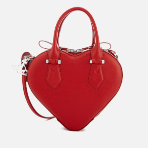 Vivienne Westwood Women's Johanna Heart Handbag - Red