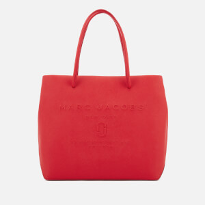Marc Jacobs Women's Logo Shopper East West Tote Bag - Red Pepper