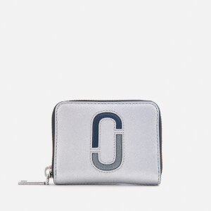 Marc Jacobs Women's Zip Card Case - Silver/Multi