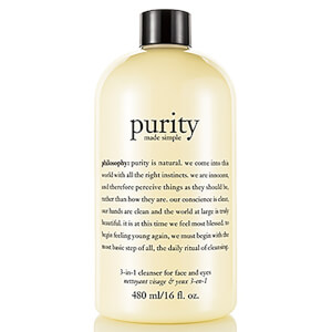 Philosophy Purity Made Simple 3-In-1 Cleanser for Face and Eyes 480ml