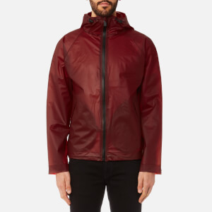 Hunter Men's Original Vinyl Windcheater Jacket - Military Red