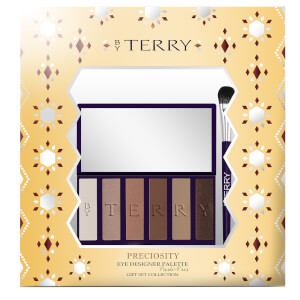 By Terry Preciosity Eye Designer Palette Parti-Pris and Eyeshadow Brush Gift Set