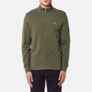 Lyle & Scott Men's Lightweight Funnel Neck Jacket - Dusty Olive