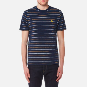 Lyle & Scott Men's Pick Stitch T-Shirt - Navy
