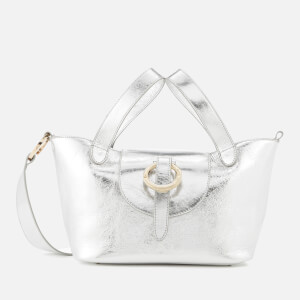 meli melo Women's Rose Thela Mini Tote Bag - Silver