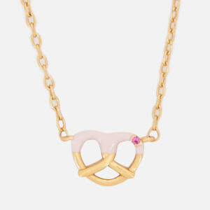 Marc Jacobs Women's Something Special Pretzal Pendant - Gold