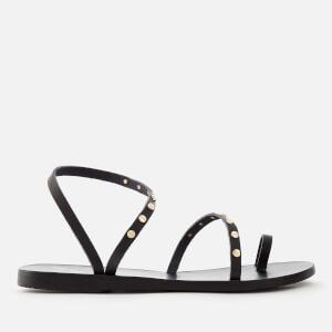 Ancient Greek Sandals Women's Apli Eleftheria Nails Sandals - Black