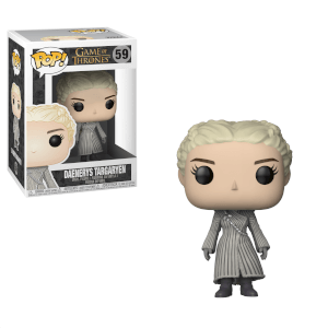 Figurine Pop! Game of Thrones - Daenerys (Manteau Blanc)