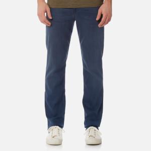 7 For All Mankind Men's Slimmy Denim Jeans - Plus Dark Blue