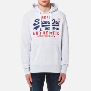 Superdry Men's Authentic Duo Hoody - Ice Marl