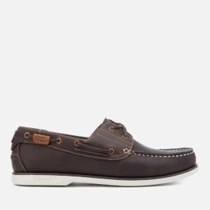 Wrangler Men's Ocean Leather Boat Shoes - Dark Brown