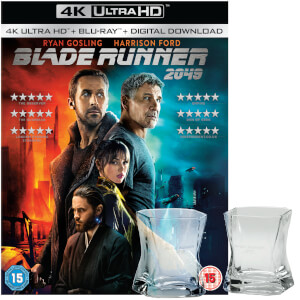 Set Blu-ray Blade Runner 2049 - Edición Limitada 4K Ultra HD y Blu-ray + 2 Vasos de Whisky