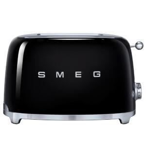 Smeg TSF01BLUK 2 Slice Toaster - Black
