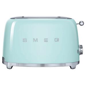 Smeg TSF01PGUK 2 Slice Toaster - Pastel Green