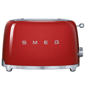 Smeg TSF01RDUK 2 Slice Toaster - Red