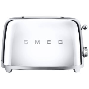 Smeg TSF01SSUK 2 Slice Toaster - Chrome