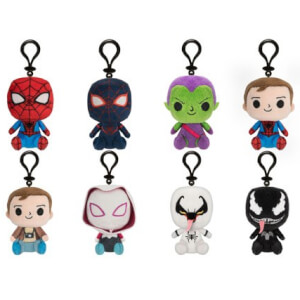 Funko Marvel Spider-Man Plush Mystery Minis (8 Pieces)