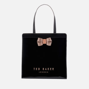 Ted Baker Women's Bow Detail Large Icon Bag - Black