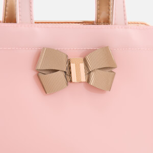 Ted Baker Women's Bow Detail Small Icon Bag - Pale Pink: Image 3