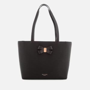 Ted Baker Women's Cattas Bow Detail Small Shopper Bag - Black