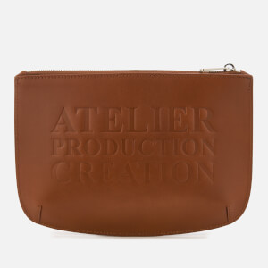 A.P.C. Men's Atelier Pouch - Marron