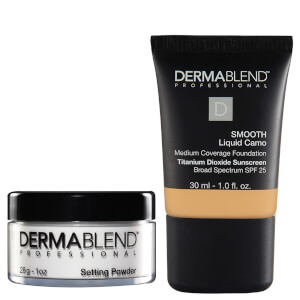 Dermablend Natural Finish Set - 40N Chestnut