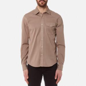 Belstaff Men's Steadway Long Sleeve Shirt - Ash Rose