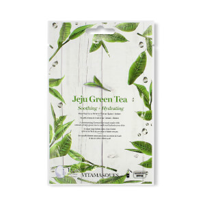 Vitamasques Jeju Green Tea Sheet Face Mask