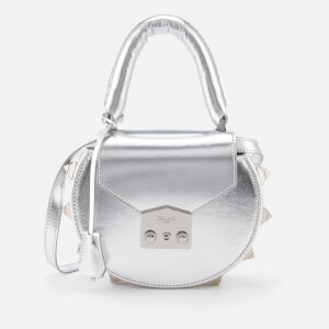 SALAR Women's Mimi Cross Body Bag - Silver