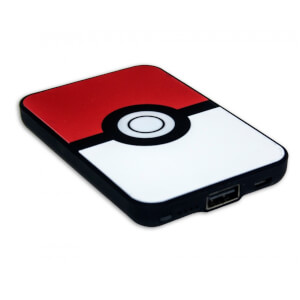 Pokemon Pokeball Credit Card Sized Power Bank (5000mAh)