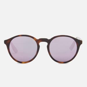 McQ Alexander McQueen Round Lens Sunglasses - Havana/Pink
