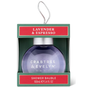 Crabtree & Evelyn Lavender and Espresso Shower Gel Bauble 100ml (Free Gift)