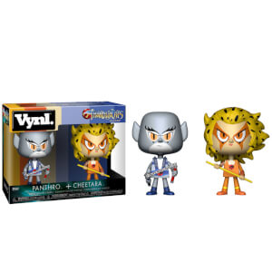 Thundercats Panthro and Cheetara Funko Vynl.