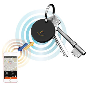 Mayhem Find-It 2 Way Tracker Key and Phone Finder