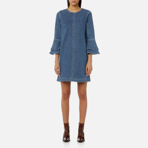 Ganni Women's Compton Denim Dress - Denim