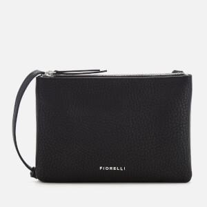 Fiorelli Women's Bunton Double Compartment Cross Body Bag - Black