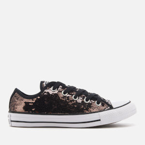 Converse Women's Chuck Taylor All Star Ox Trainers - Gunmetal/White/Black
