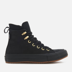 Converse Women's Chuck Taylor All Star Waterproof Boots - Black/Black/Brass