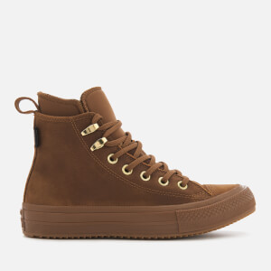 Converse Women's Chuck Taylor All Star Waterproof Boots - Brown/Brown/Brass