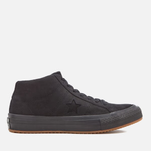Converse Men's One Star Mid Counter Climate Mid Trainers - Black/Black/Black