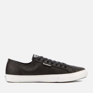Superdry Men's Premium Low Pro Sleek Trainers - Black