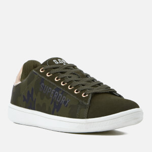 Superdry Women's Army Suede Trainers - Camo: Image 2