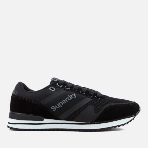 Superdry Men's Fero Runner Trainers - Black
