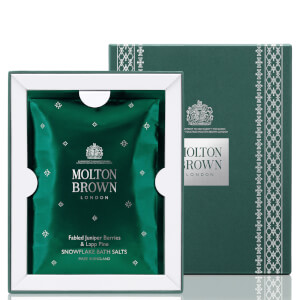Molton Brown Fabled Juniper Berries and Lapp Pine Snowflake Bath Salts 180g
