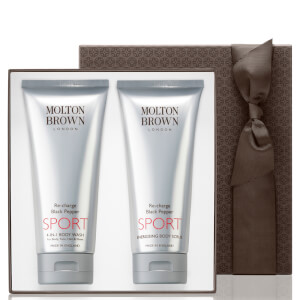 Molton Brown Men's Re-Charge Black Pepper Sport Gift Set