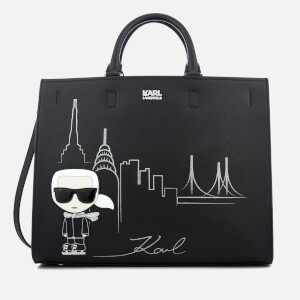 Karl Lagerfeld Women's NYC Tote Bag - Black