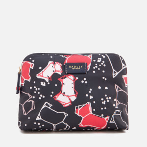 Radley Women's Speckle Dog Medium Zip-Top Pouch - Ink