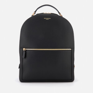 Aspinal of London Women's Mount Street Large Backpack - Black